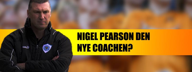 Nigel Pearson den nye managern?